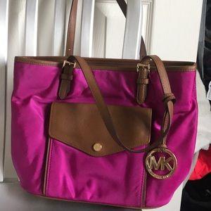 Pink Michael kors bag